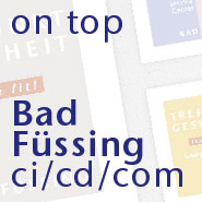 bad fuessing ci/cd/com