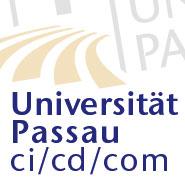 Universität Passau ci/cd/com