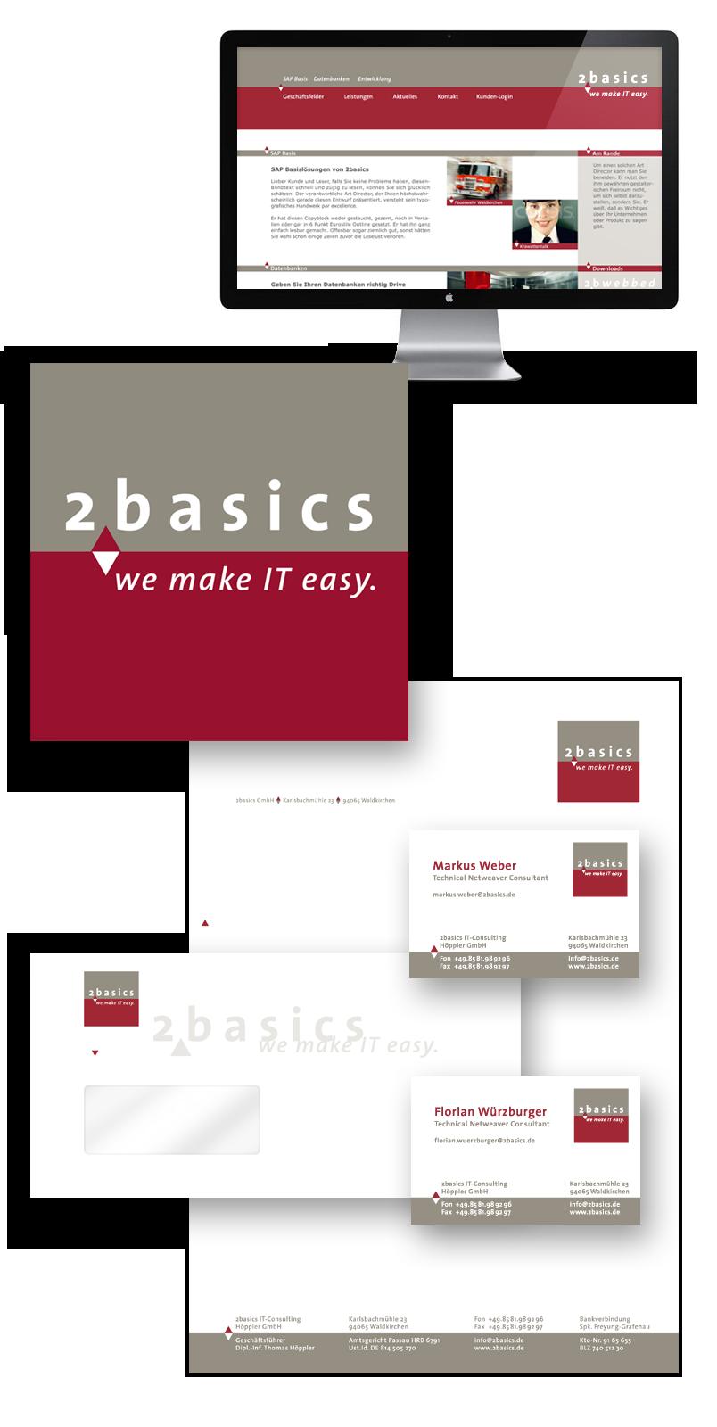 2basic / Geschäftsausstattung
