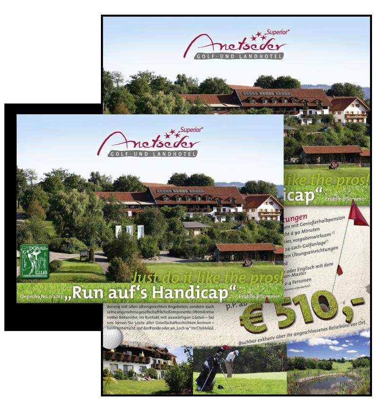 Anetseder / Golf-mailing