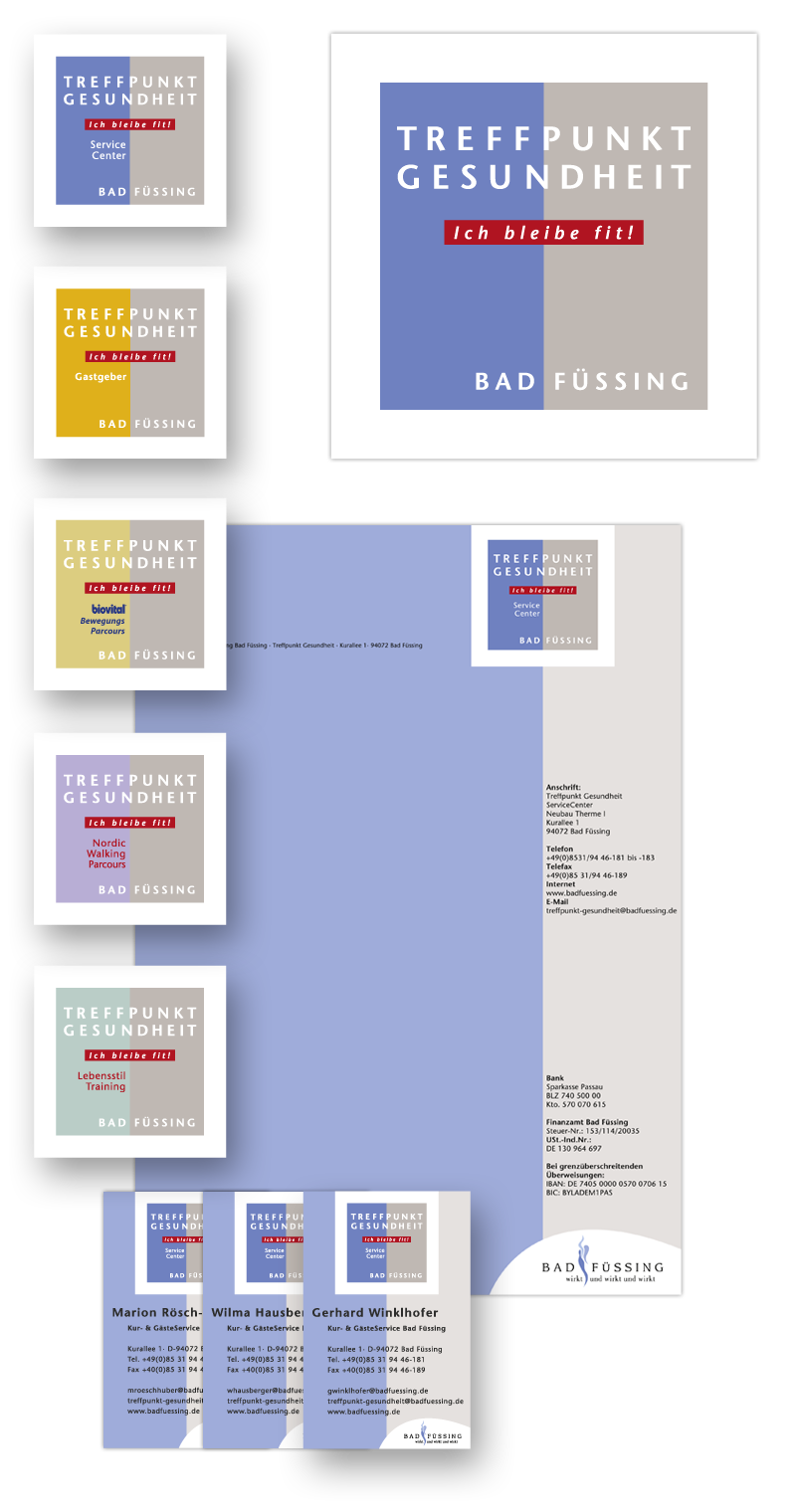 Bad Füssing / Geschäftsausstattung