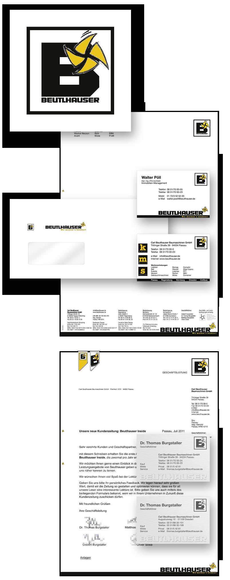 Beutlhauser / Geschäftsausstattung