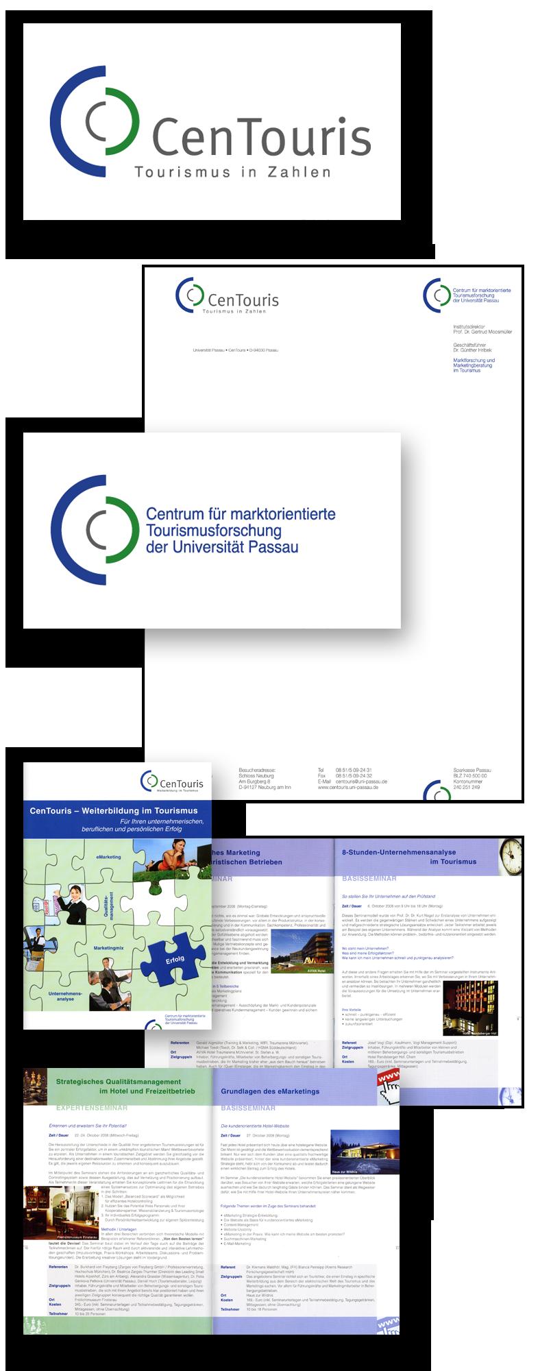 CenTouris / Geschäftsausstattung