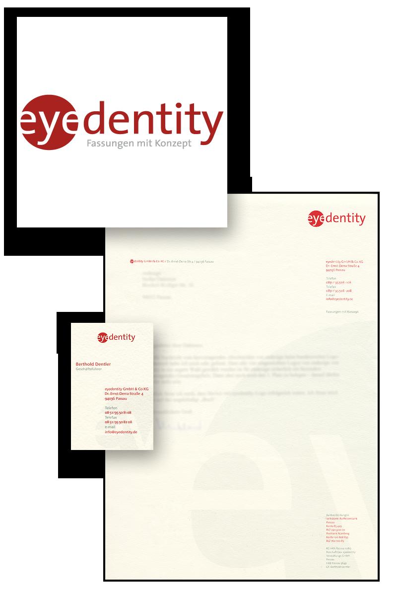 Eyedentity / Geschäftsausstattung