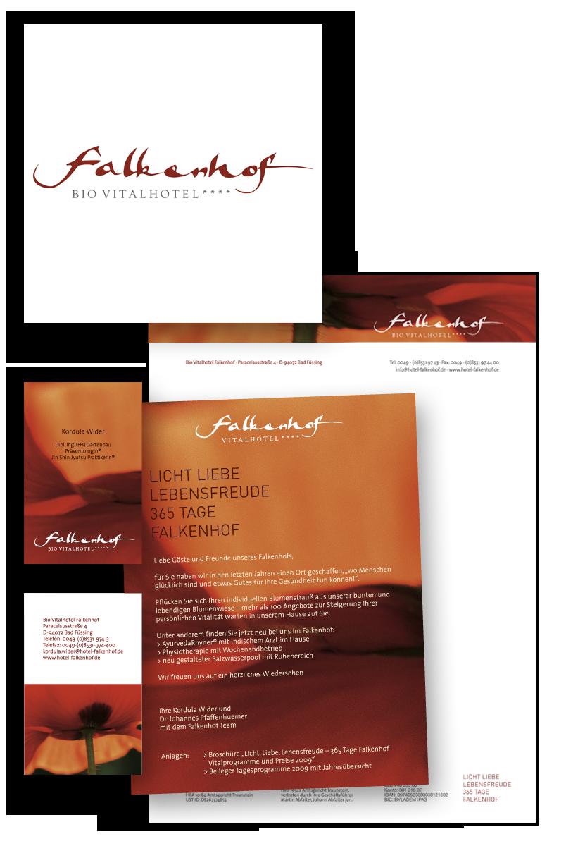Falkenhof / Geschäftsausstattung