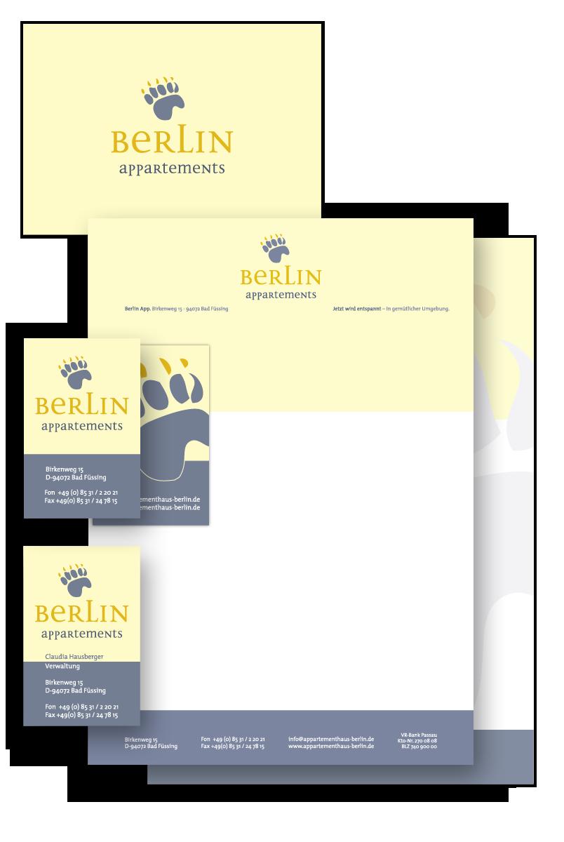 Haus Berlin / Geschäftsausstattung