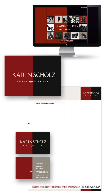 Karin Scholz / Geschäftsausstattung