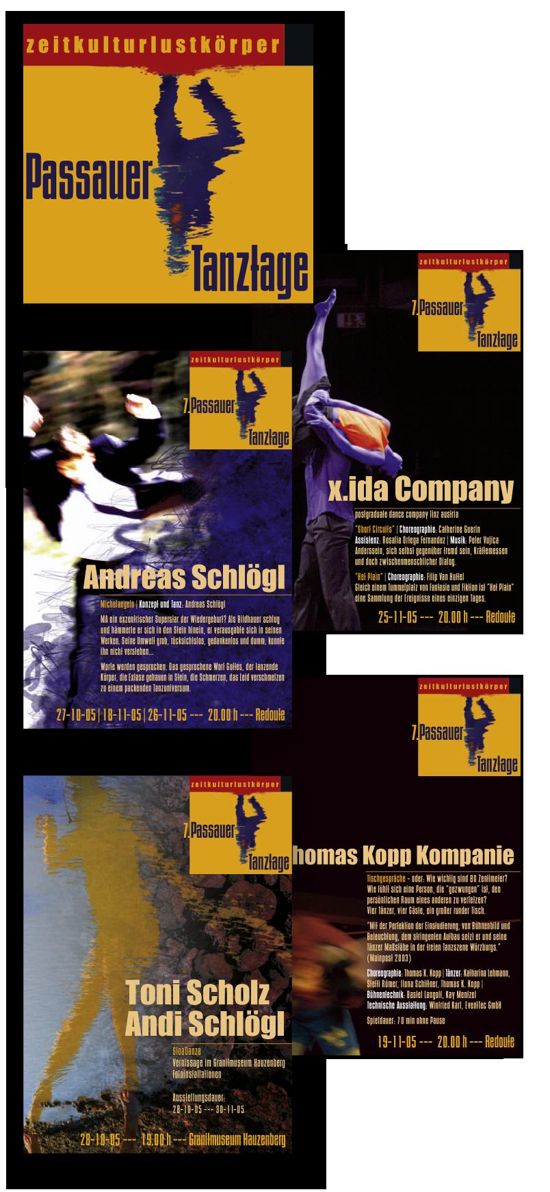 Passauer Tanztage / communication