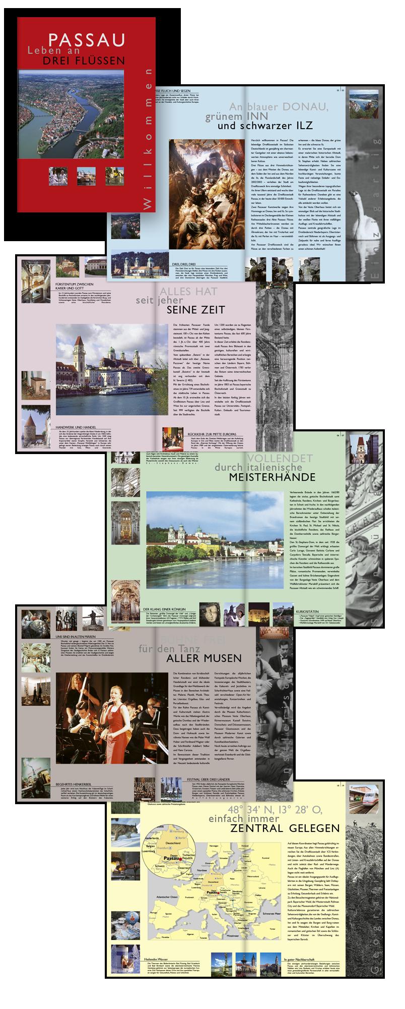 Passau Tourismus / Imagebroschüre