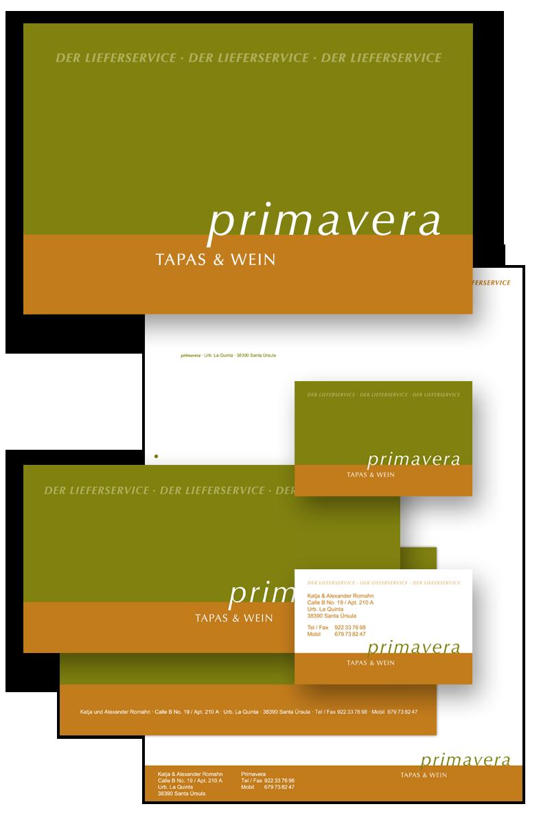 Primavera / Geschäftsausstattung