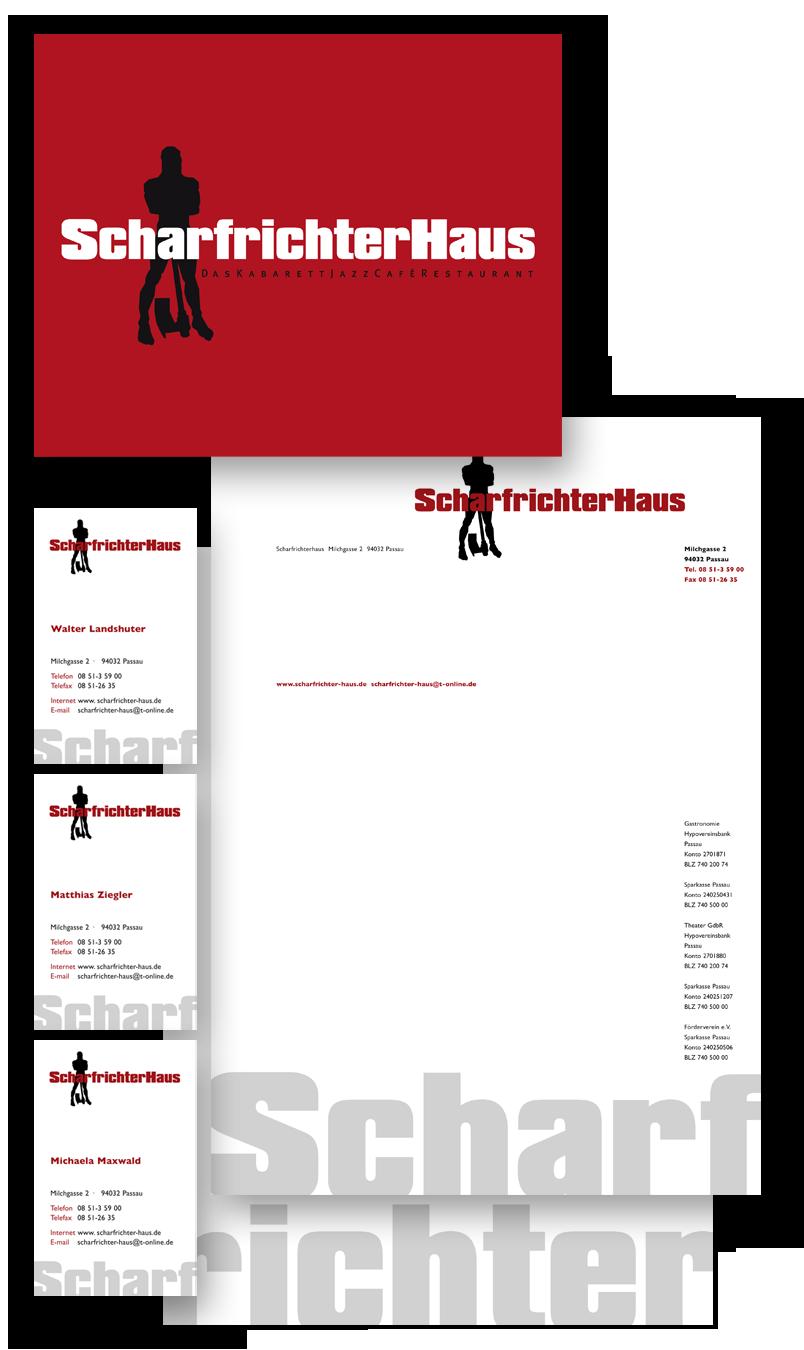 ScharfrichterHaus / Geschäftsausstattung