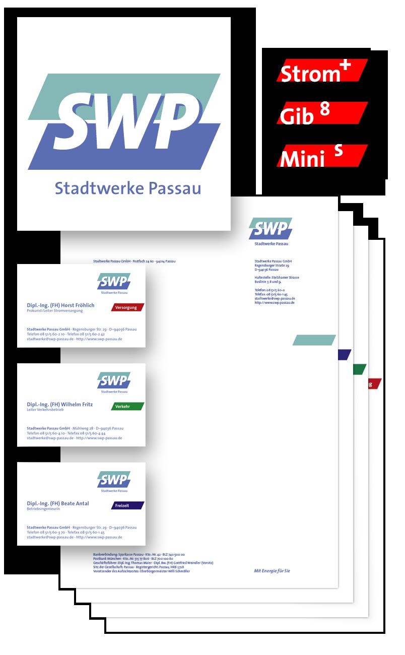SWP / Geschäftsausstattung