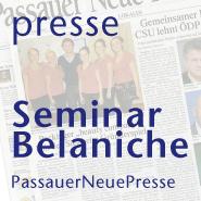 Seminar Belaniche presse artikel